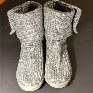 Knit Ugg boots! Slightly worn, good condition!